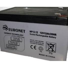 باتری یو پی اس 12 ولت 12 آمپر ساعت مارک EURONET باطری یو پی اس