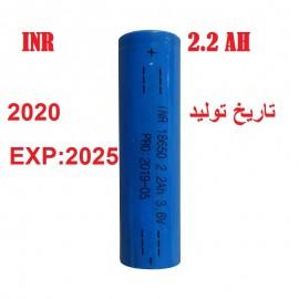 باتری لیتیوم یون 3.7V سایز 18650 مخصوص پاور بانک
