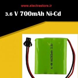 باتری شارژی اسباب بازی 3.6 ولت 1100 میلی امپر
