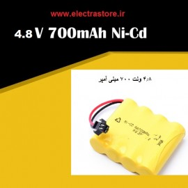 باتری شارژی اسباب بازی 4.8 ولت 1100 میلی امپر