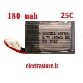 3.7  180mAh مرغوب مارک مکسل 25C باتری لیتیوم پلیمر