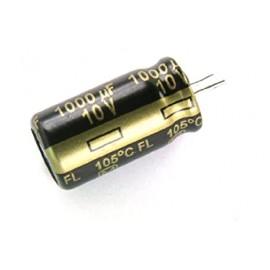 خازن الکترولیتی 100uF/16V - خازن 100 میکرو