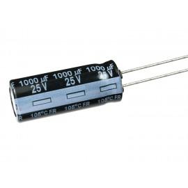 خازن الکترولیتی 1000uF/25V - خازن 1000 میکرو