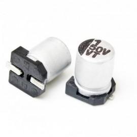 خازن SMD الکترولیت ES 1uf/50V smd سایز  4x5.4mm