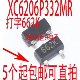 رگولاتور  XC6206P332MR 662K  SOT23 3.3V 0.5A