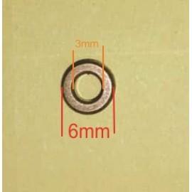 بوش برنجی مخصوص کوادکوپتر 6mm کواد کوپتر