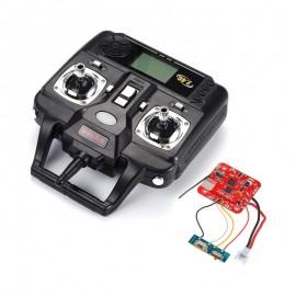 دسته کنترل (رادیو) و مدار کواد کوپتر مدل syma x5-syma x5c